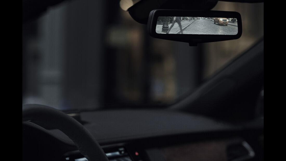 Cadillac CT6 2016, Rückspiegel, Screen