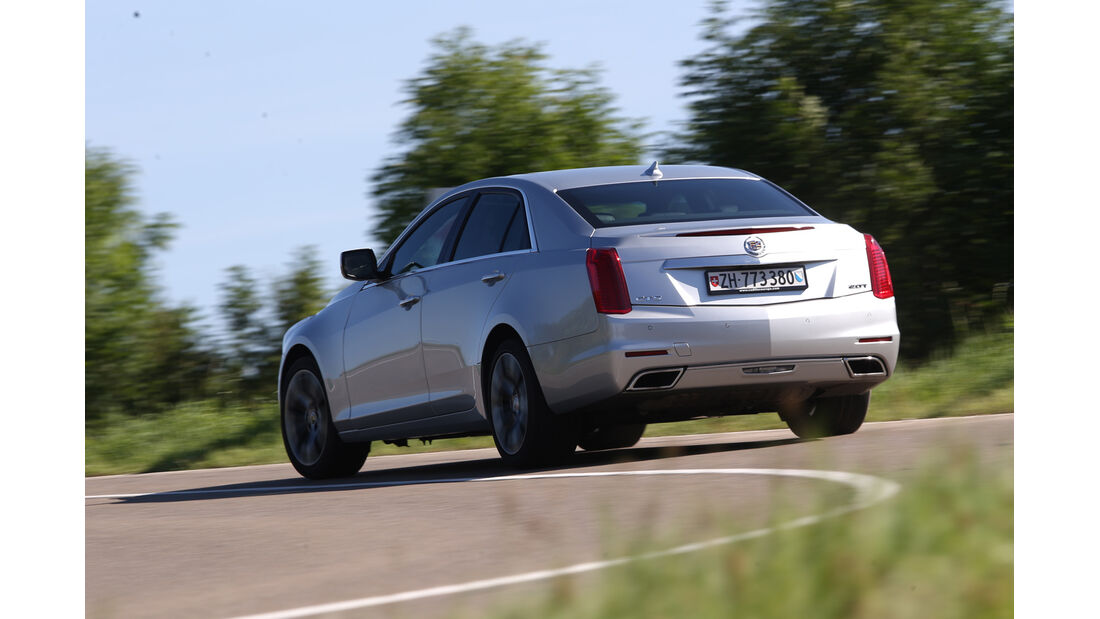 Cadillac CTS 2.0T AWD, Heckansicht