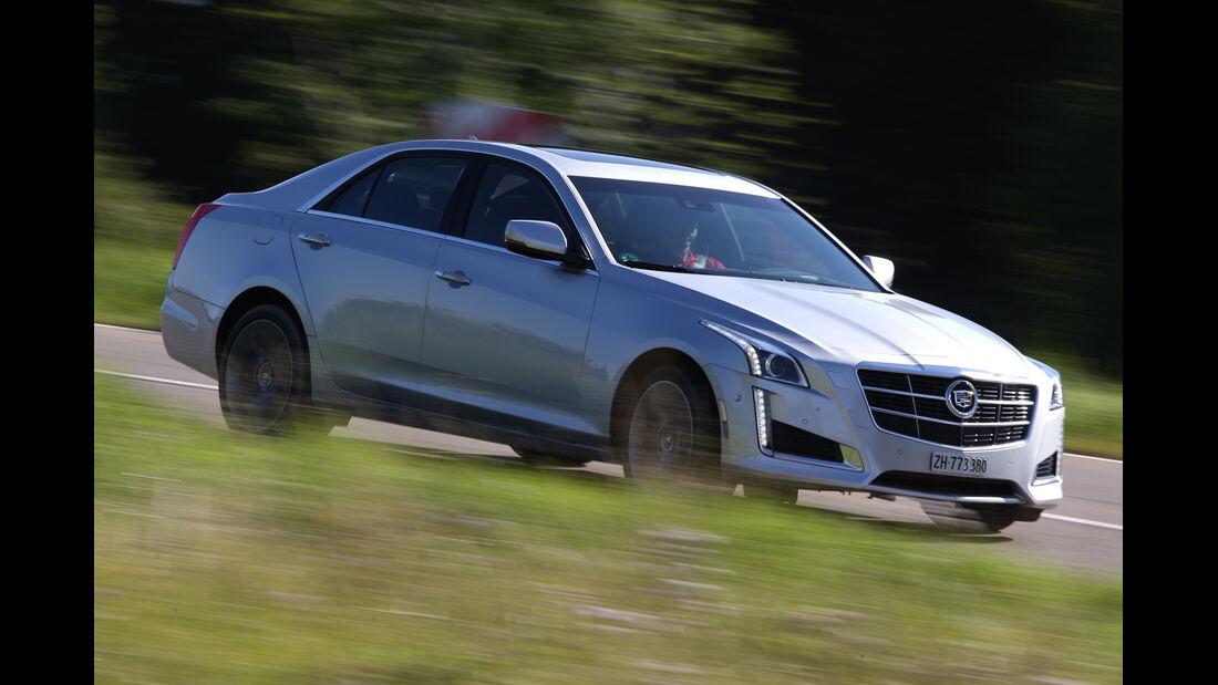 Cadillac CTS 2.0T AWD, Seitenansicht