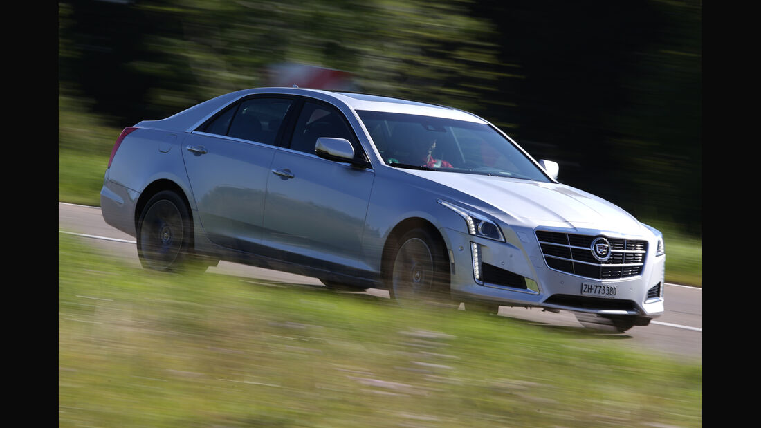 Cadillac CTS 2.0T AWD, Seitenansicht