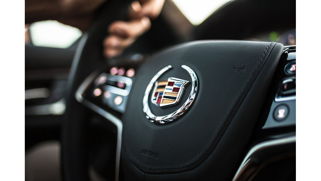 Cadillac CTS, Lenkrad
