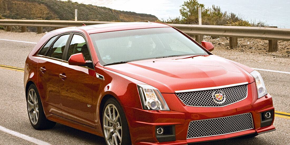 Cadillac CTS Station Wagon, Frontansicht