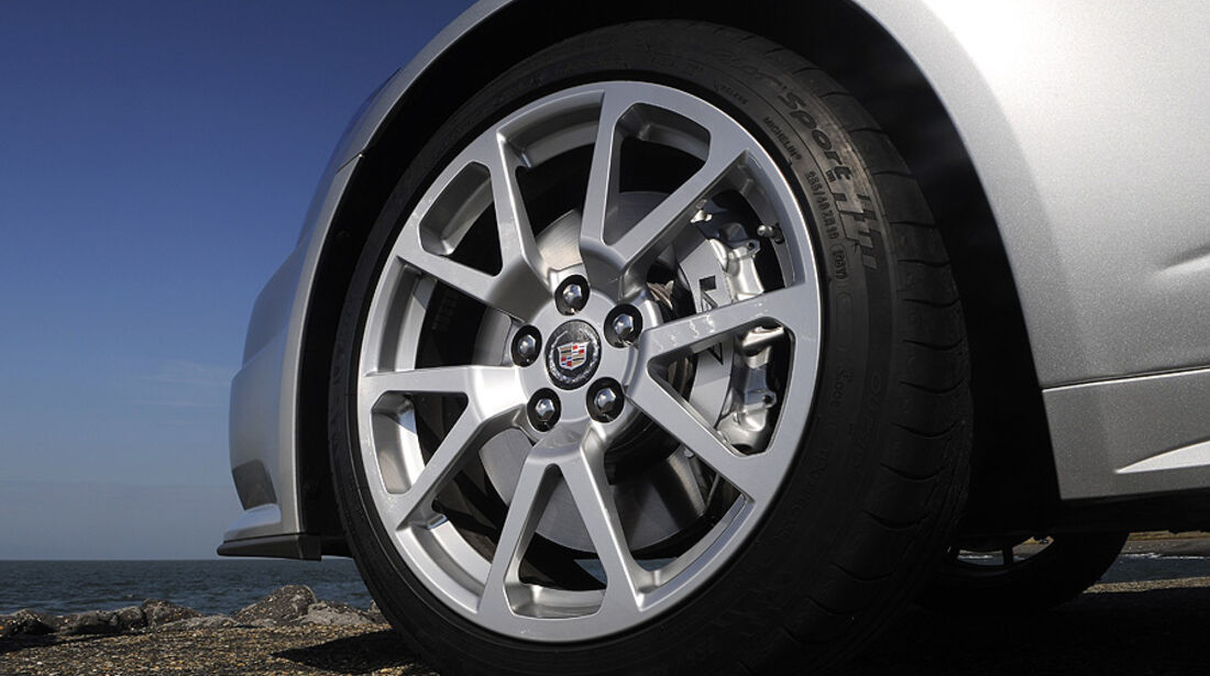 Cadillac CTS-V Coupé, Rad, Bremse
