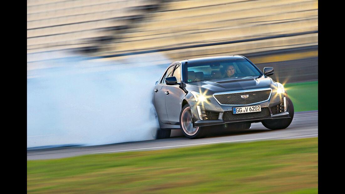 Cadillac CTS-V, Driften