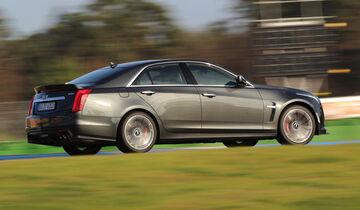 Cadillac CTS-V, Seitenansicht