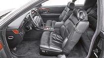 Cadillac Eldorado TC, Cockpit, Fahrersitz