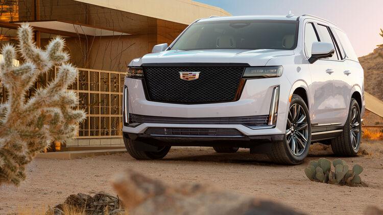 Cadillac Escalade 2021 5 77 Meter Suv Halb So Teuer Wie Ein