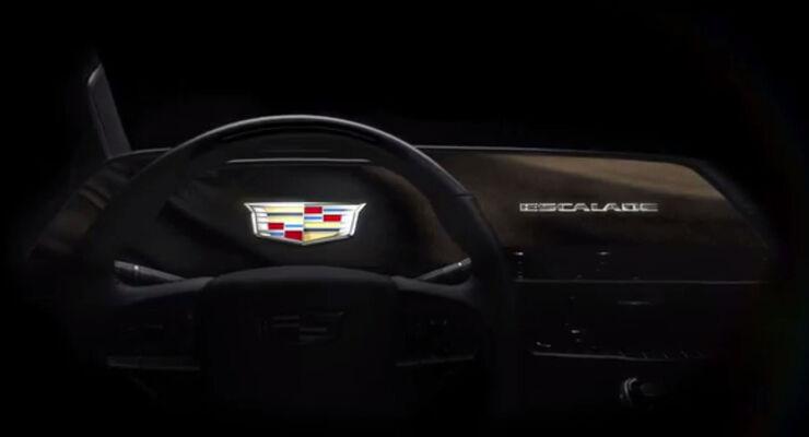 Cadillac Escalade OLED-Cockpit