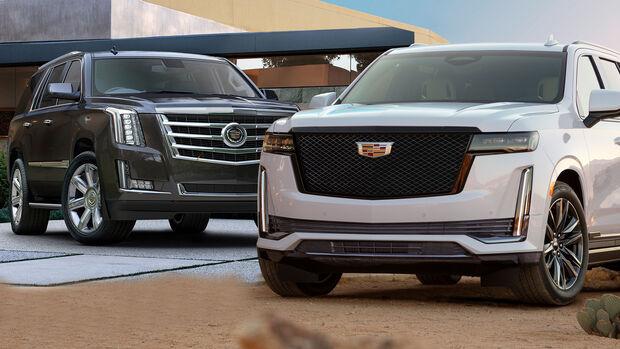 Cadillac Escalade alt neu Vergleich 2018 2021