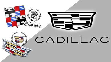 Cadillac Logo Neu Monochrom 2021