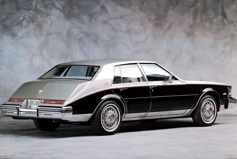 Cadillac Seville, Seitenansicht