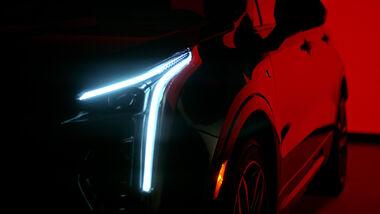 Cadillac XT4 Teaser