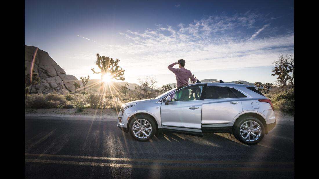 Cadillac XT5 Seite