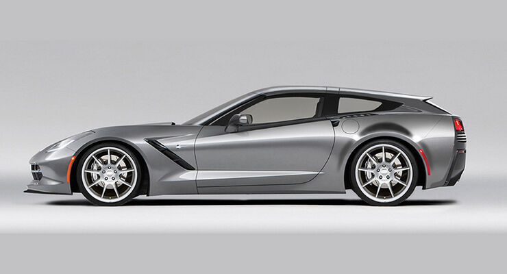 Callaway Aerowagon Concept Corvette C7 Shooting Brake