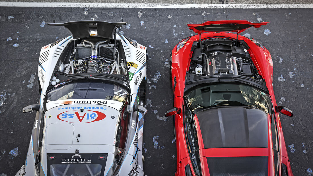 Callaway Champion C7, Callaway Corvette C7 GT3-R, Motoren