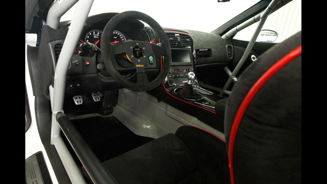 Callaway-Corvette Z06.RR, Cockpit, Lenkrad