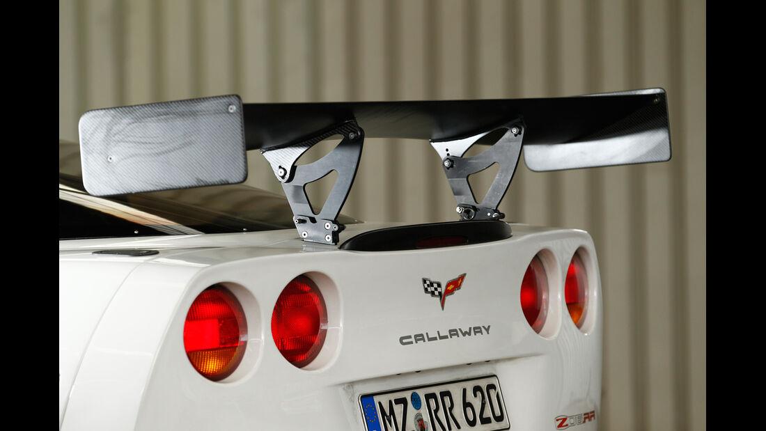 Callaway-Corvette Z06.RR, Heckspoiler