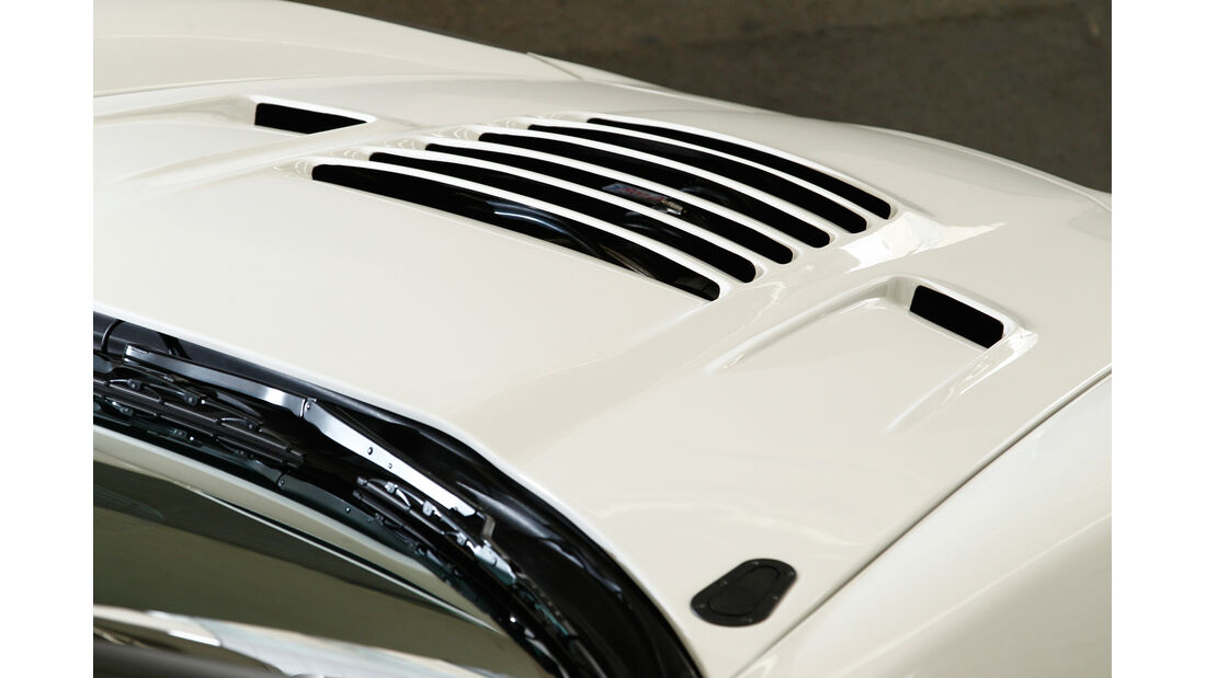 Callaway-Corvette Z06.RR, Motorhaube