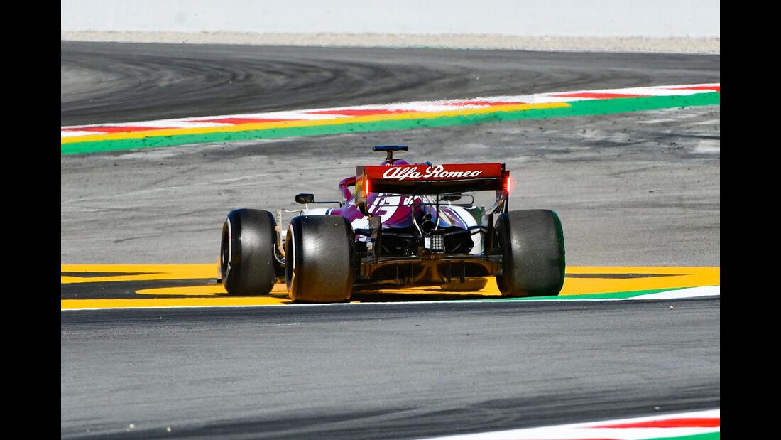 Callum Ilott - Alfa Romeo - F1-Test - Barcelona  - 14. Mai 2019