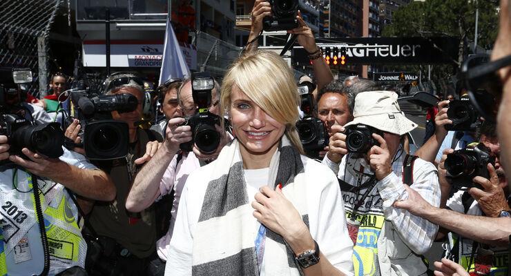 Cameron Diaz - GP Monaco 2013 - VIPs & Promis