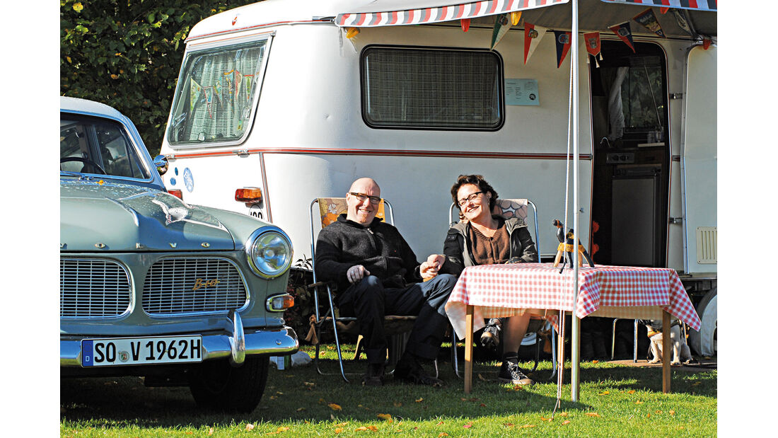 Camper, Anja und Hans-Georg Hogrebe, Eriba Pan