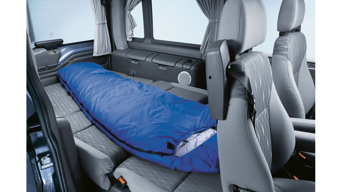 Campingbusse, Ford Euroline, Innenraum