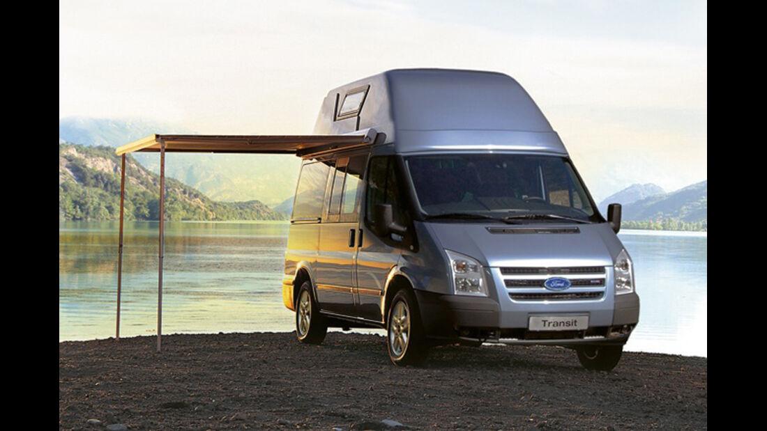 Campingbusse, Ford Nugget, Vorzelt