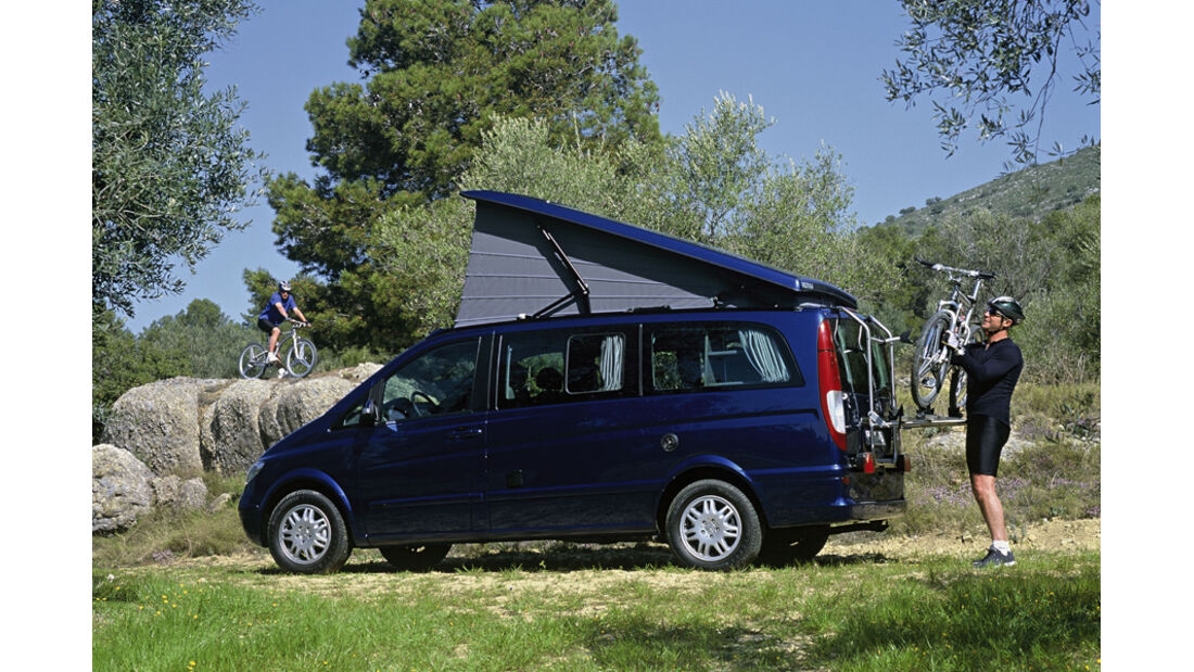 Campingbusse, Mercedes Benz Marco Polo, Klappdach