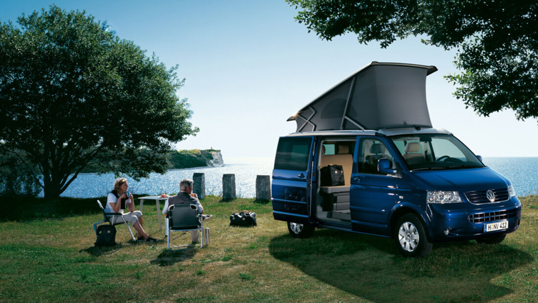 Campingbusse, VW California 3