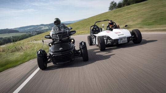 Can-Am Spyder F3 Limited, Kyburz eRod, Exterieur