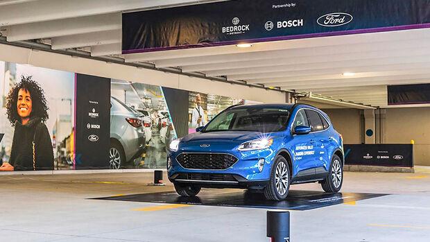 Car Connectivity Award 2020, Innovationspreis Automated Valet Parking Bosch