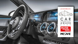 Car Connectivity Award 2020, Mercedes MBUX-System