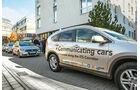 Car-to-X-Technologie, Versuchsträger