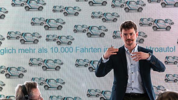 Car2Go 2018 CEO Olivier Reppert