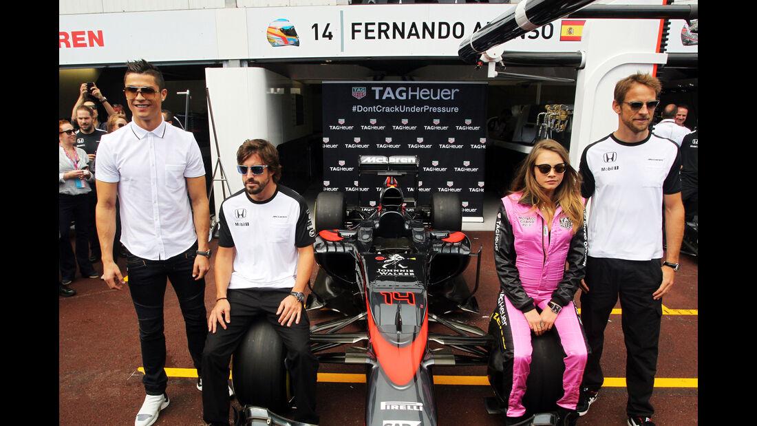 Cara Delevingne - Formel 1 - GP Monaco - Sonntag - 24. Mai 2015