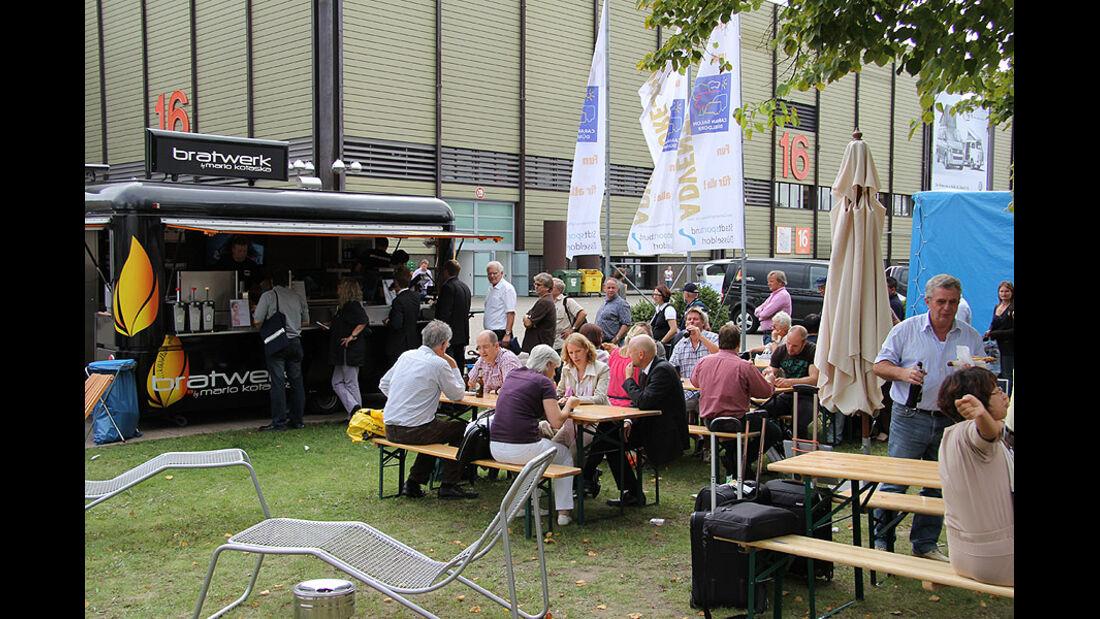 Caravan Salon 2011, Messerundgang