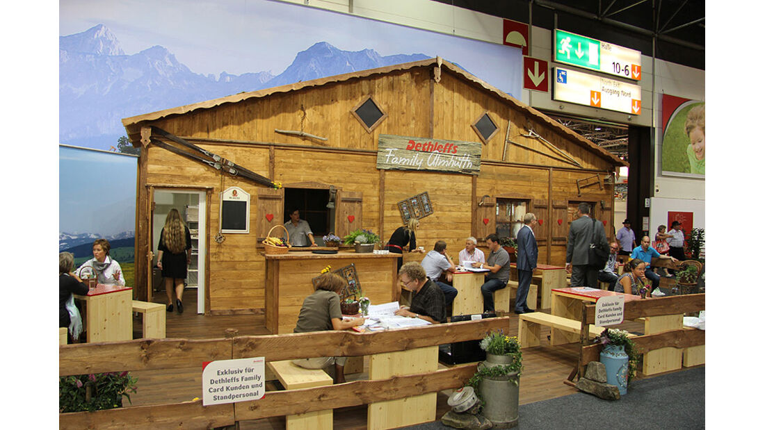 Caravan Salon 2011, Messerundgang, Dethleffs