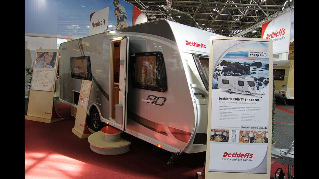 Caravan Salon 2011, Messerundgang, Dethleffs Caravan Eighty