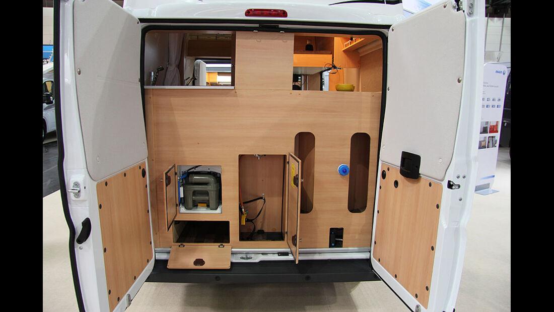 Caravan Salon 2011, Messerundgang, Knaus Box Star