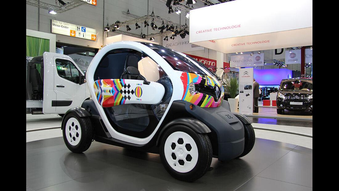 Caravan Salon 2011, Messerundgang, Renault Twizy