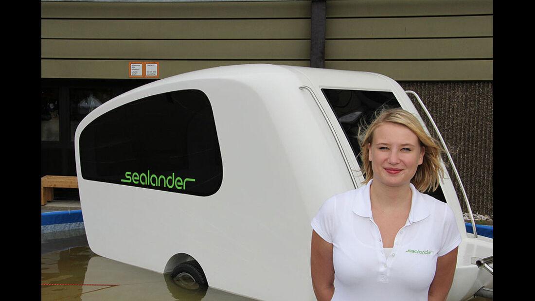 Caravan Salon 2011, Messerundgang, Sealander