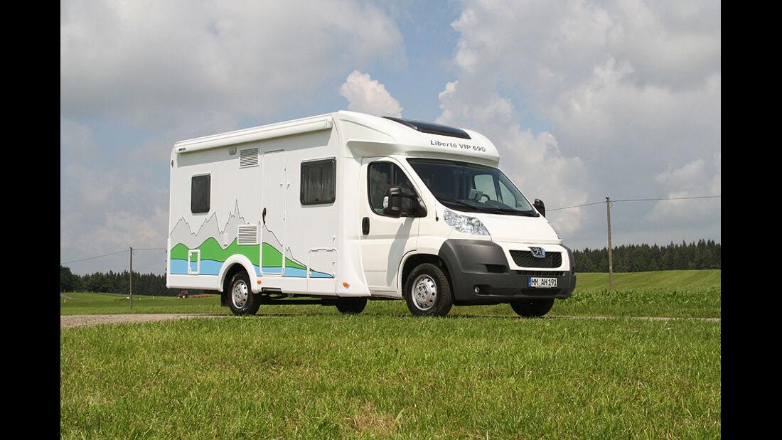 Caravan Salon 2011, Peugeot Boxer Liberté