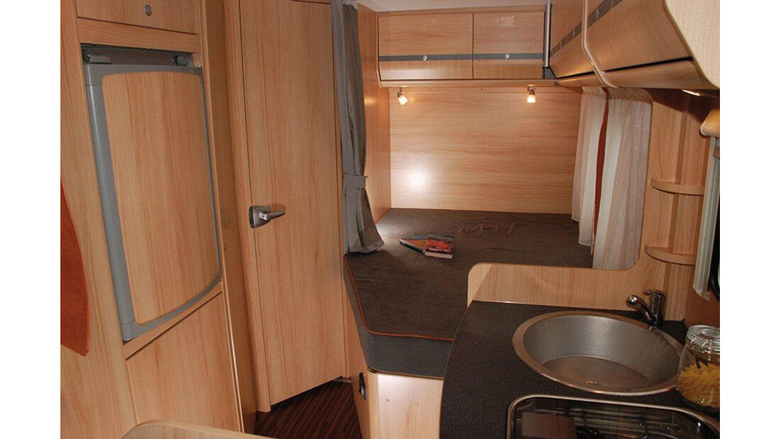 Caravan Salon 2011, Peugeot Boxer Liberté, Innenraum