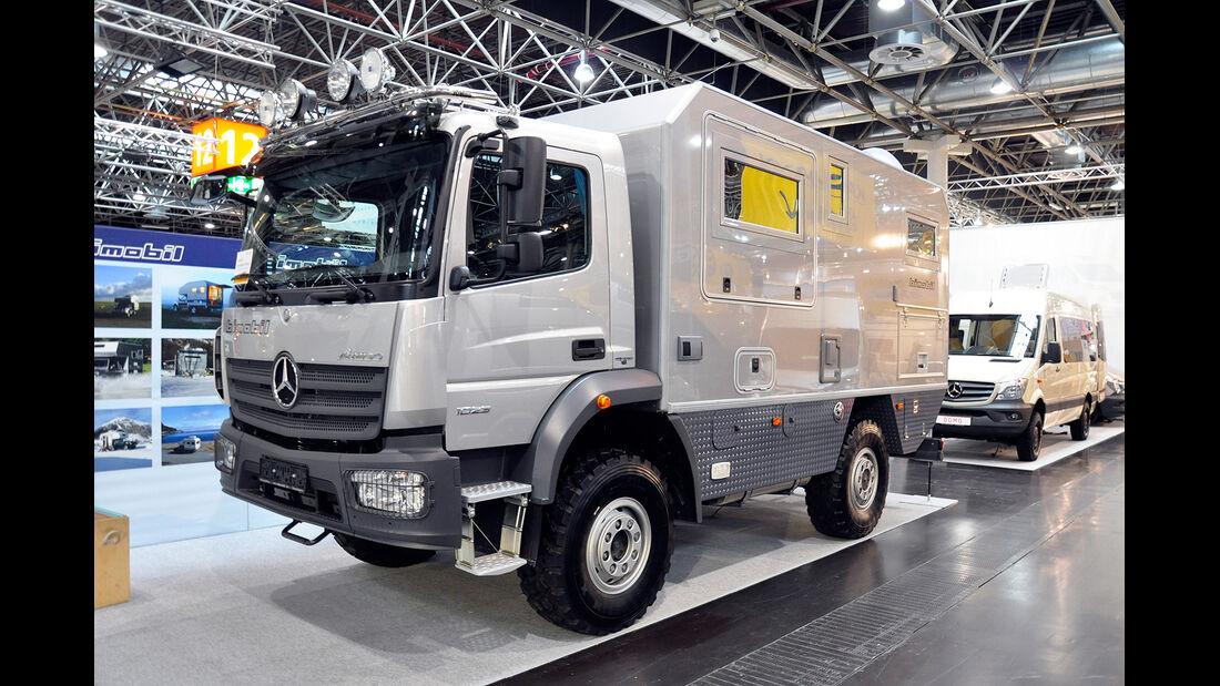 Caravan Salon 2014, Bimobil