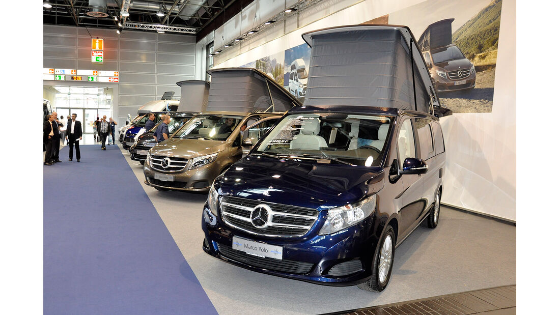 Caravan Salon 2014, Westfalia, Mercedes Marco Polo