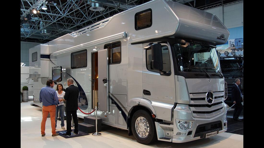 Caravan Salon 2015, Rundgang, Highlights