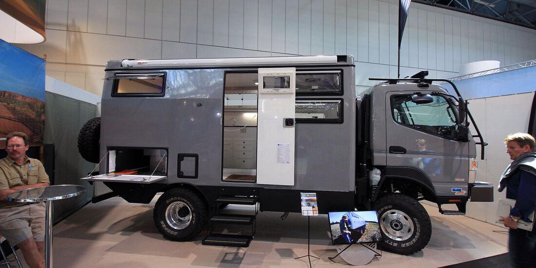 Caravan-Salon Düsseldorf 2016 - Offroad-Camper