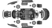 Carbon-Teile, VW XL1