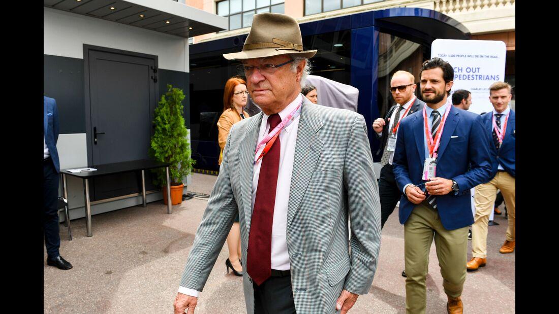 Carl Gustaf König von Schweden - Formel 1 - GP Monaco - 26. Mai 2019