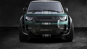 Carlex Land Rover Defender Racing Green Edition Tuning